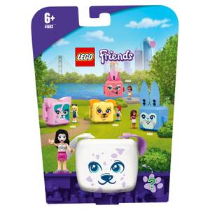 LEGO Friends: Emma's Dalmatian Cube Playset Series 4 (41663)