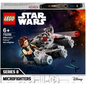 レゴ スター・ウォーズ ミレニアム・ファルコン マイクロファイター玩具 (75295)