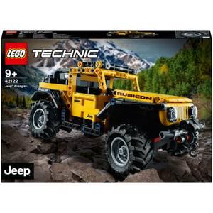 LEGO Technic: Jeep Wrangler Toy Car (42122)