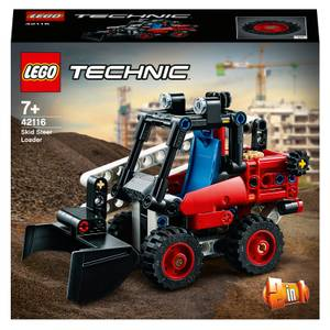 LEGO Technic: Skid Steer Loader to Hot Rod 2 in 1 Set (42116)