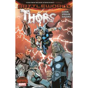 Marvel Thors (Secret Wars: Battleworld: Thors) Graphic Novel Paperback