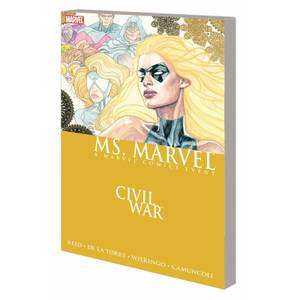 Marvel Civil War: Ms. Marvel Graphic Novel Paperback