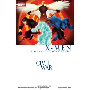 Marvel Civil War: X-Men Graphic Novel Paperback