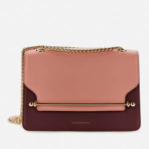Strathberry Women's East/West Shoulder Bag - Rose/Purple Potion/Soft Pink