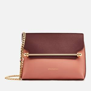 Strathberry Women's Stylist Mini Bi Colour Bag - Rose/Purple Potion
