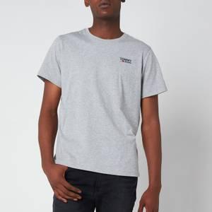 Tommy Jeans Men's Regular Corporate Logo T-Shirt - Light Grey Heather