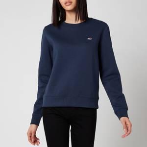 Tommy Jeans Women's Regular Fleece Sweatshirt - Twilight Navy