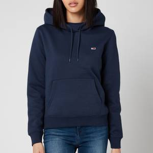 Tommy Jeans Women's Regular Fleece Hoodie - Twilight Navy