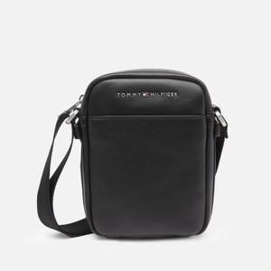 Tommy Hilfiger Men's City Mini Reporter Bag - Black
