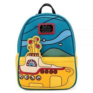 Loungefly The Beatles Yellow Submarine Mini Backpack