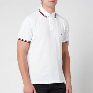 Tommy Hilfiger Men's Core Tommy Tipped Polo Shirt - White