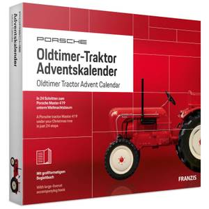 Franzis Official Porsche Tractor Advent Calendar