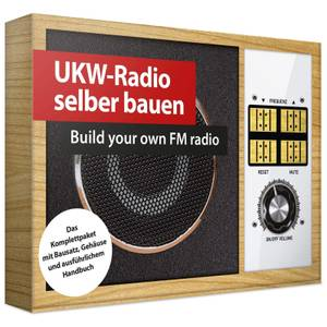 Franzis Build Your Own FM Radio Kit (Soldering)