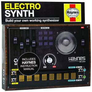 Franzis Haynes Build Your Own Electro Synth Kit