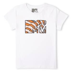 MTV Logo Men's T-Shirt - White