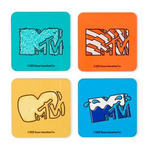 MTV Multiple Logo Coaster Set