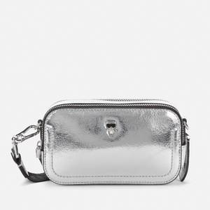 KARL LAGERFELD Women's K/Ikonik 3D Pin Camera Bag - Silver