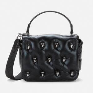 KARL LAGERFELD Women's K/Ikonik 3D Multi Pin Flap Bag - Black