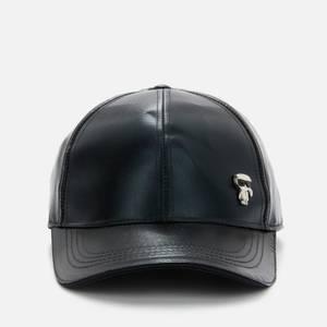 KARL LAGERFELD Women's K/Ikonik 3D Pin Cap - Black