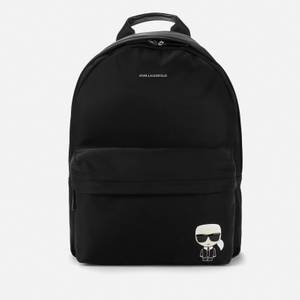 KARL LAGERFELD Women's K/Ikonik Nylon Backpack - Black