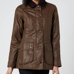Barbour Women's Beadnell Wax Jacket - Bark