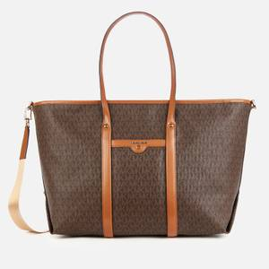 MICHAEL Michael Kors Women's Beck Large Tote Bag - Brown/Acorn