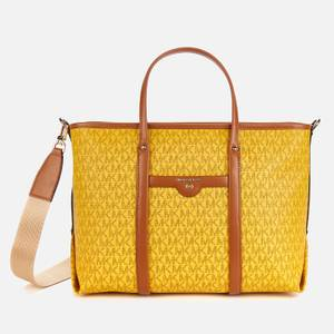 MICHAEL Michael Kors Women's Beck Medium Convertible Tote Bag - Honey