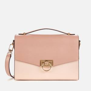 MICHAEL Michael Kors Women's Hendrix Medium Messenger Bag - Soft Pink/Fawn