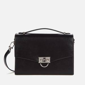MICHAEL Michael Kors Women's Hendrix Medium Messenger Bag - Black