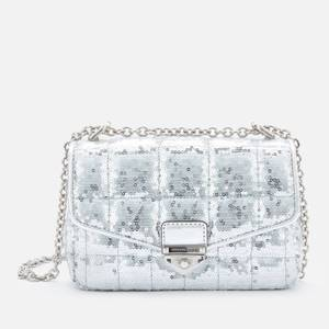 MICHAEL Michael Kors Women's Soho Small Chain Shoulder Bag - Silver
