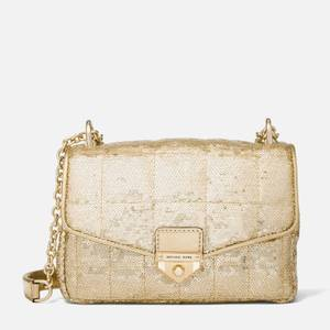 MICHAEL Michael Kors Women's Soho Small Chain Shoulder Bag - Pale Gold
