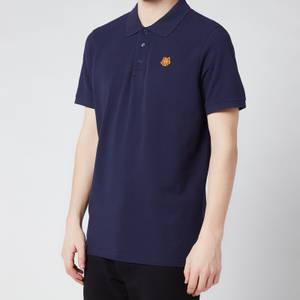 KENZO Men's Tiger Crest Polo Shirt - Navy Blue