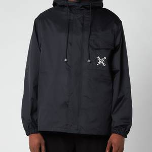 KENZO Men's Sport Short Scooter Parka - Black