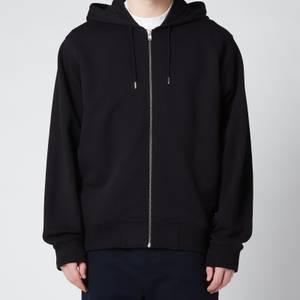 KENZO Men's Tiger Classic Full Zip Hooded Sweatshirt - Black