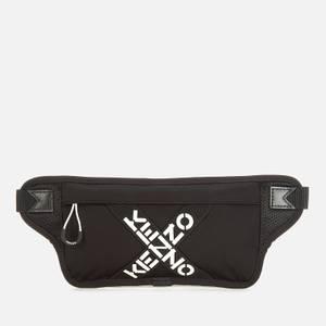 KENZO Men's Sport Flat Beltbag - Black
