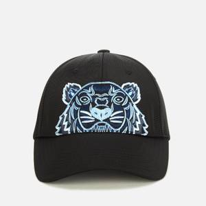 KENZO Men's Kampus Canvas Tiger Cap - Black