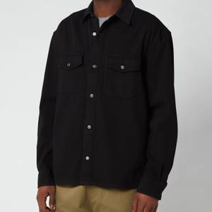 KENZO Men's Button Down Overshirt - Black