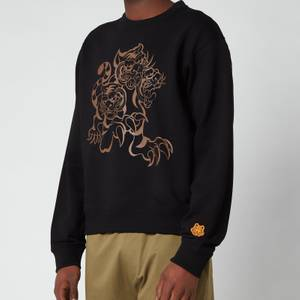 KENZO Men's Seasonal Logo Classic Sweatshirt - Black
