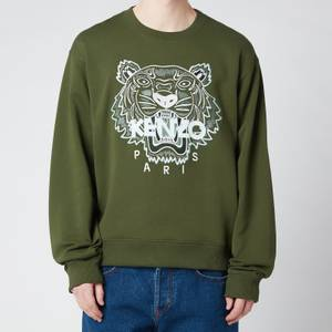 KENZO Men's Tiger Classic Sweatshirt - Dark Khaki