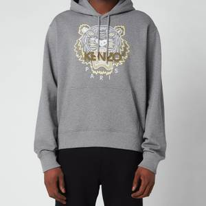 KENZO Men's Tiger Classic Hooded Sweatshirt - Dove Grey