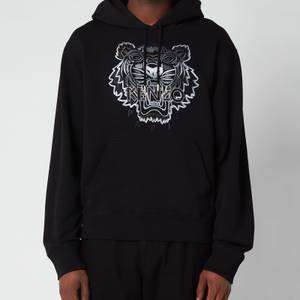 KENZO Men's Gradient Tiger Classic Hooded Sweatshirt - Black