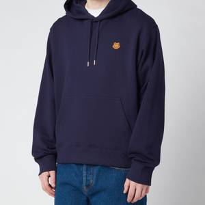 KENZO Men's Tiger Crest Classic Hooded Sweatshirt - Navy Blue