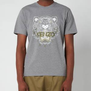 KENZO Men's Tiger Classic T-Shirt - Dove Grey