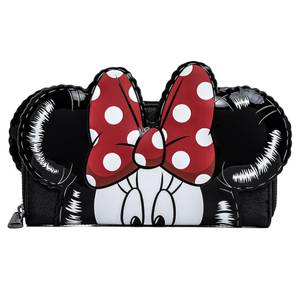 Loungefly Disney Mickey and Minnie Balloons Cosplay Zip Around Wallet