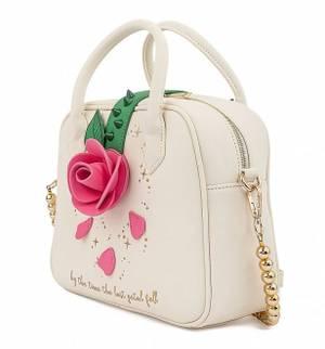 Loungefly Disney Beauty and The Beast Rose Crossbody Bag