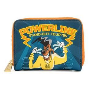 Loungefly Disney Goofy Movie Powerline All Access Pass Zip Around Wallet