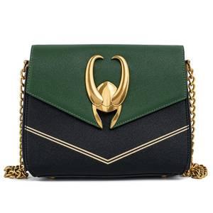 Loungefly Marvel Loki Hardware Crossbody Bag