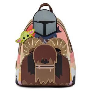 Loungefly Star Wars Mandalorian Bantha Ride Mini Backpack