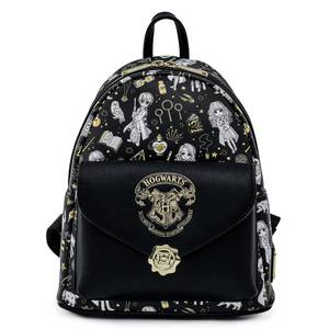 Loungefly Harry Potter Magical Elements AOP Mini Backpack