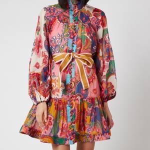 Zimmermann Women's The Lovestruck Mini Dress - Mixed Paisely Floral